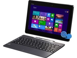 "ASUS  Transformer Book  T100TAF-DH11T-CA  Intel Atom  1GB  Memory 32GB  SSD 10.1""  Touchscreen 2-in-1 TabletWindows 8.1"
