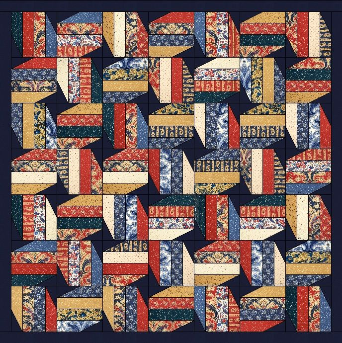 Happy President's Day! I thought a lovely Military themed quilt would be perfect for today. So another obsessed thing I have is I am very...