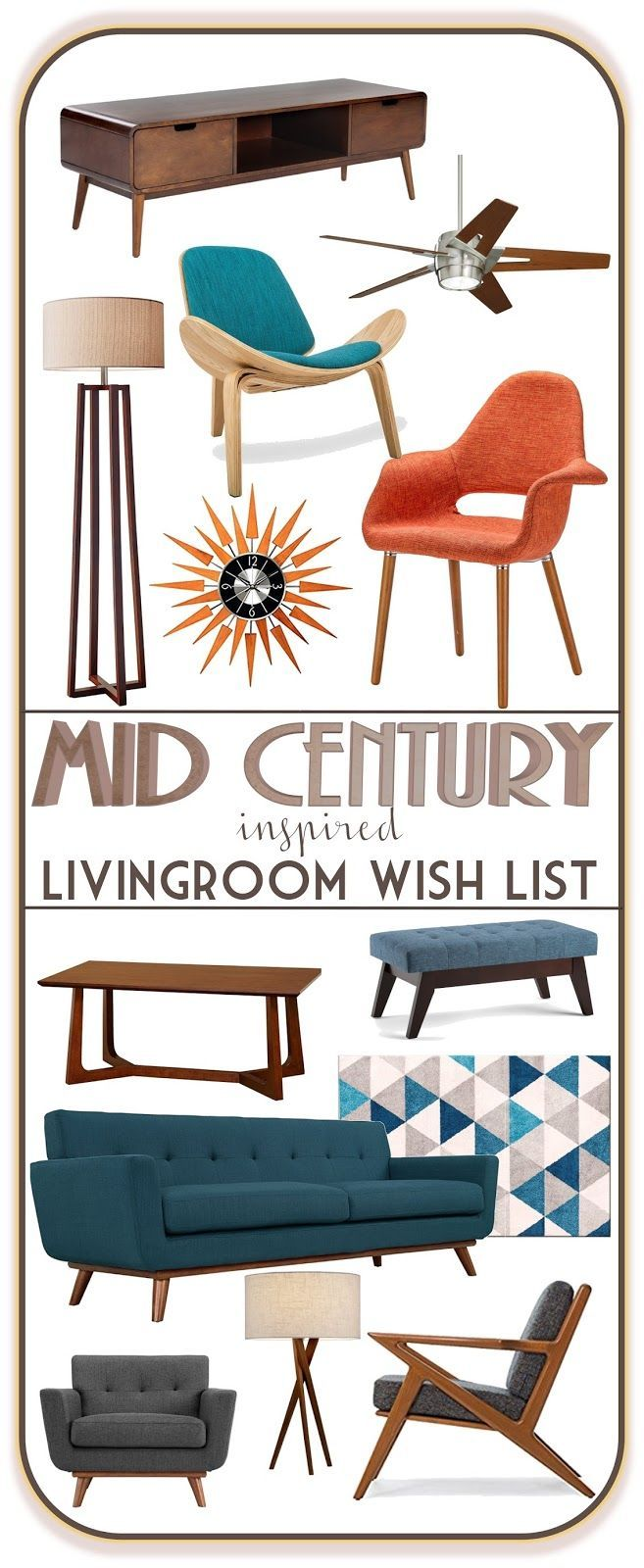 Cabinet brings a mid century charm to the dining room or living room - Best 25 Mid Century Living Room Ideas On Pinterest Cabinet Modern Entryway And Credenza