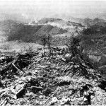 linea gotica PEABODY PEAK looking to the south Dust from Highway 6524 can be seen in background Photograph was taken 22 September 1944