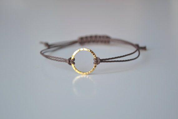 Eternity BraceletAdjustable Cord Bracelet Friendship par 1001bijoux, $10.00