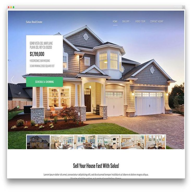 Best Real Estate Wordpress Themes Images On