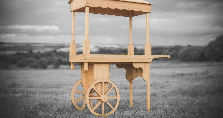 Candy cart for sale & candy cart hire in any style & colour. Beautiful traditional wooden candy carts handmade in the UK as seen on TV Mr Selfridge!