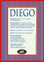 Diego, significado de Diego, origen de Diego, nombres para bebés. Puedes enviar por email, compartir o imprimir nombres, nombres para niños en español