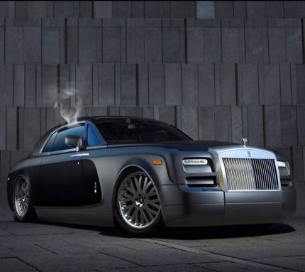 Big pimpin' Rolls Royce