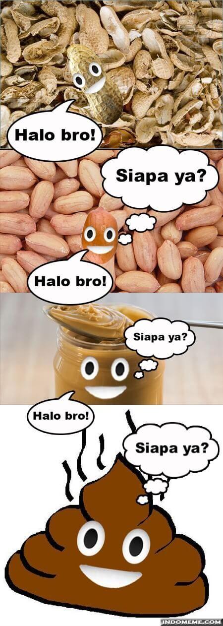 Kacang Lupakan Kulit - http://www.indomeme.com/meme/kacang-lupakan-kulit/