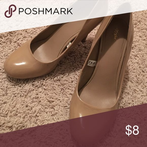Camel pump Neutral camel pump! Goes with everything Mossimo Supply Co. Shoes Heels