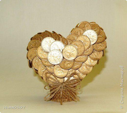 Букеты от монет, цветок купить ростов