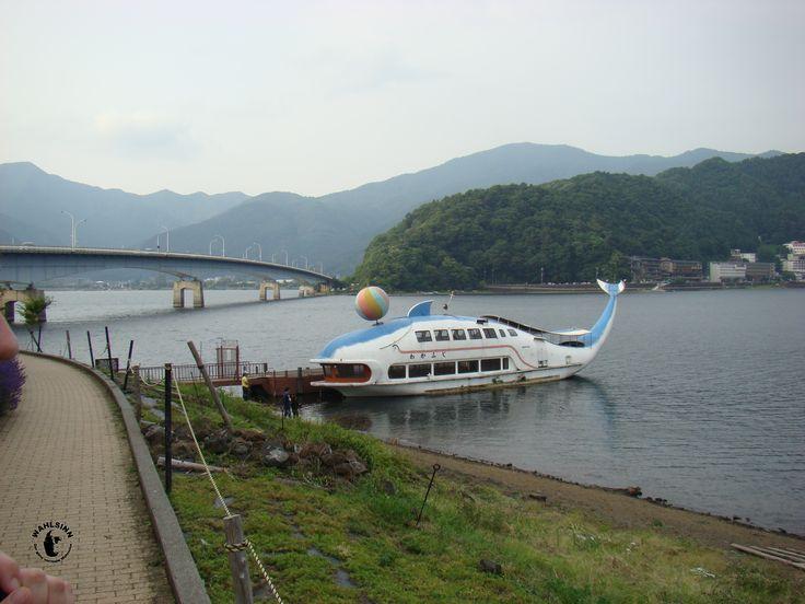 Japan // Kawaguchiko - Eine lustige Fähre