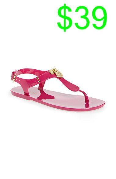 neon. // neon tank* neon necklace* michael kors bag* aztec tribal black and white shorts* neon sandals
