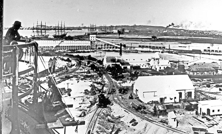[The site of the B.H.P. steel works when it was a copper works n.d.] | by UON Library,University of Newcastle, Australia