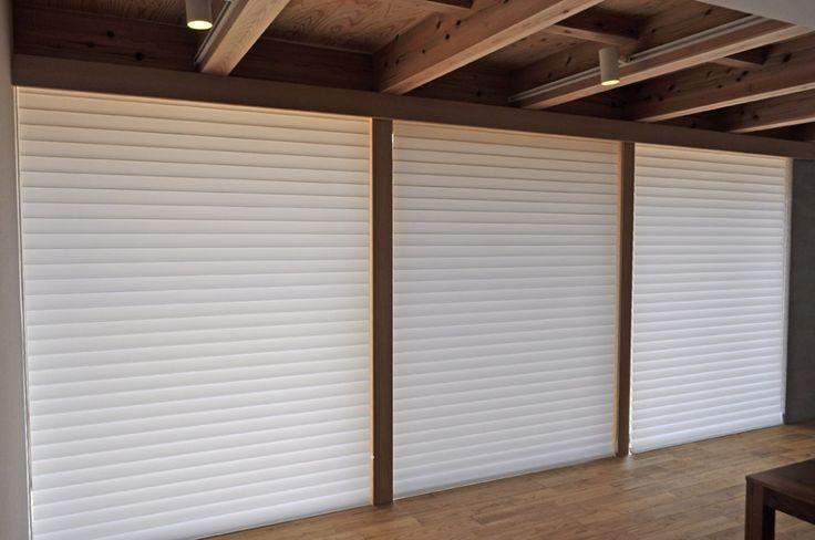 ハンターダグラス 木の家 シンプル モダン ツキデ工務店