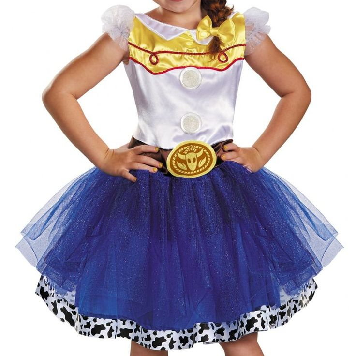 Jessie Tutu prestígio Traje Crianças Toy Story Halloween Fantasia Cowgirl