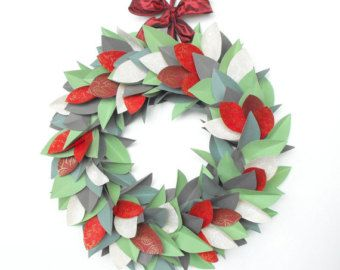 midcentury modern christmas garland - Google Search