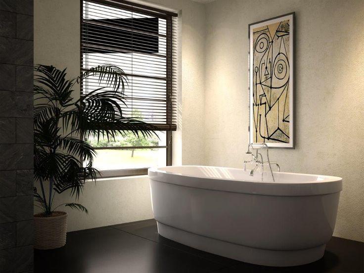 "The Retreat Model 6636 - 66"" Acrylic Freestanding Bathtub"