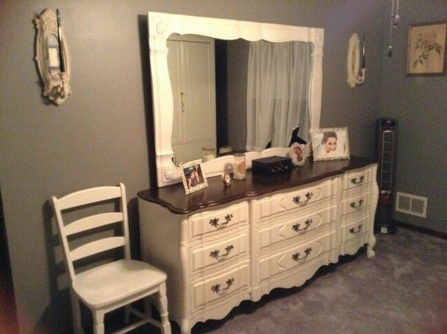 french provincial dresser shabbychic stainedtop