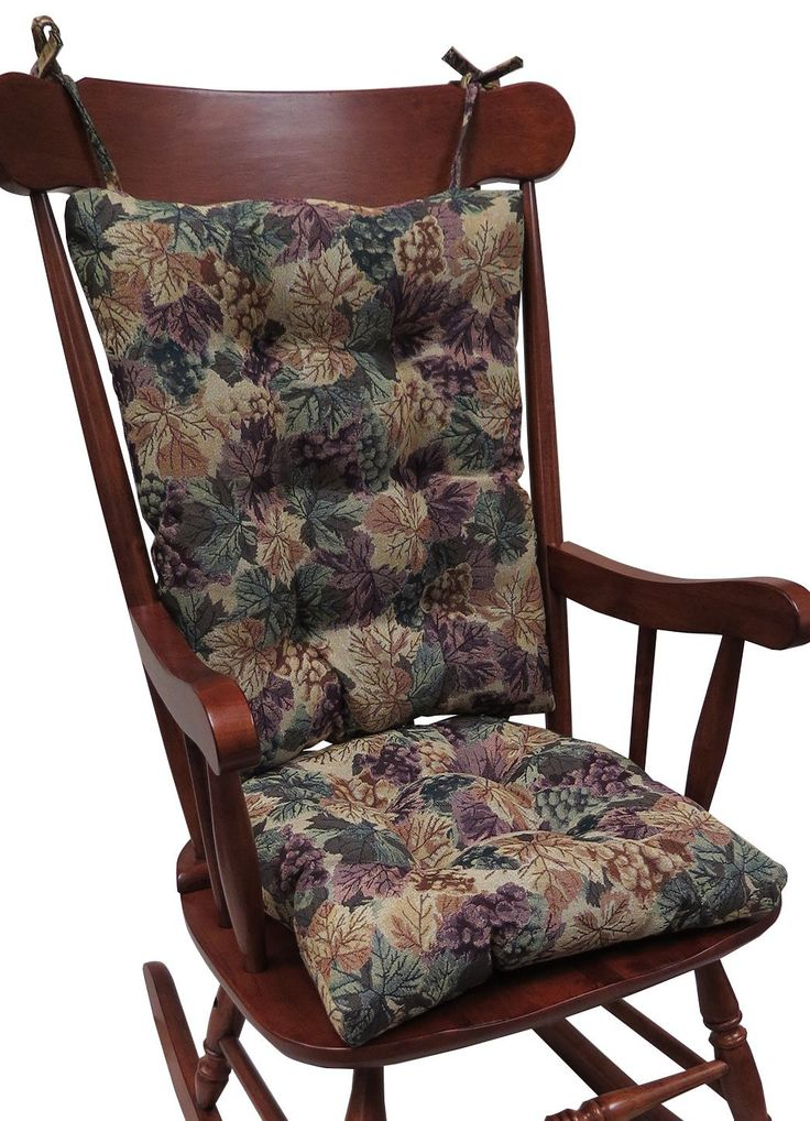 Buy The Gripper Non-Slip Cabernet Tapestry Jumbo Rocking Chair Cushions Online at Low Prices in India - Amazon.in