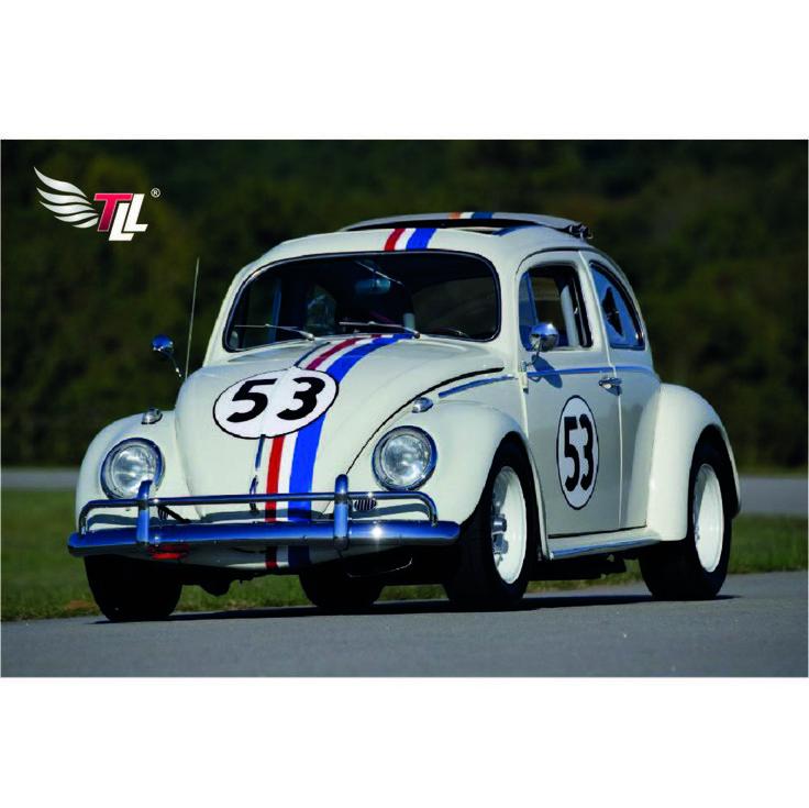 Herbie es el legendario Beetle con el número de carreras 53 y el coche más querido en la historia del cine#tiendadellantas #motos #carro #seguridad #prevención #diseño #innovación #tecnología #motor #rueda