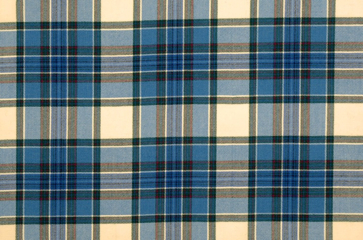 Swatch of Tiree Turquoise #tiree #turquoise #tartan