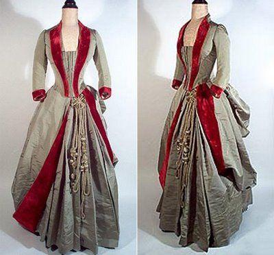 1880s: Fashion Dresses, 1880S Fashion, Edwardian Wedding Dresses, Victorian Gowns, Fashion Plates, Beautiful Dresses, Red Velvet, Victorian Dresses, The Dresses