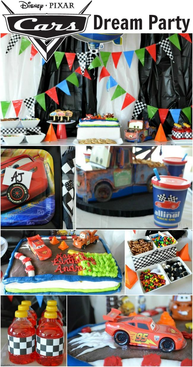 Ultimate Cars-themed party!  #shop #cbias #DreamParty