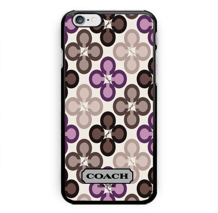 NEW COACH Cute Pattern Print On Hard Plastic LUXURY CASE COVER For iPhone 6 6s 7 #UnbrandedGeneric