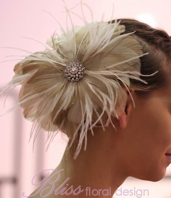 Hair piece for Qld Brides Wedding Expo, parade used by Wendy Makin.