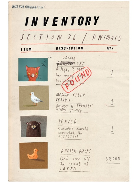 Oliver Jeffers - Projects