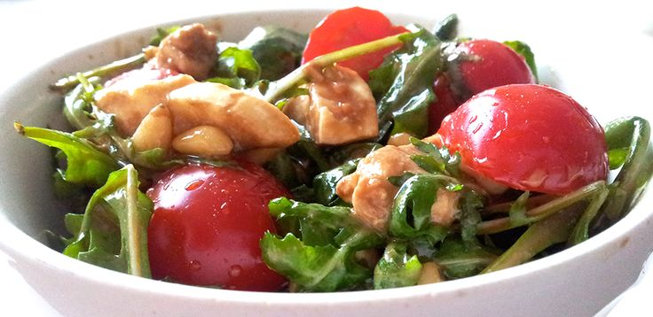 Italiaanse salade   Het lekkerste recept vind je op AllesOverItaliaansEten