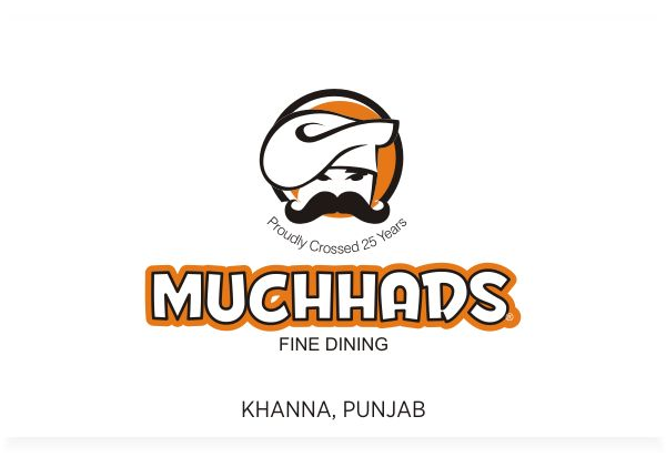 Muchhads Fine Dining Restaurant, Khanna Punjab, Logo Design by Fineline Graphics @ www.finelinelogo.com