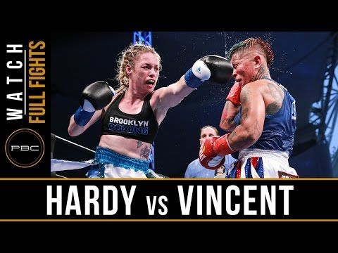 Full Fight: Heather Hardy vs. Shelly Vincent in a 10-round Championship