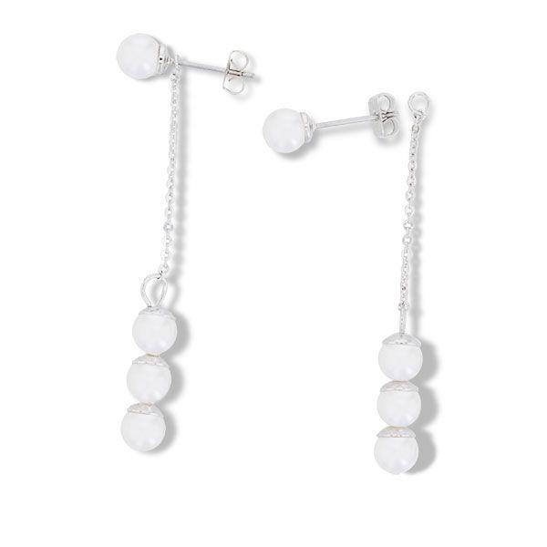2way pearl earrings