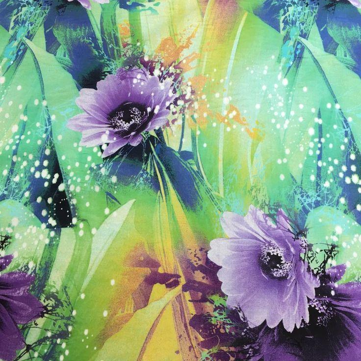 Lisa Green Printed Cotton