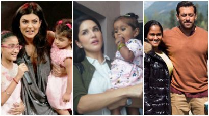 Sushmita Sen, Raveena Tandon, Salim Khan and other Bollywood stars who adopted kids before Sunny Leone - The Indian Express #FansnStars