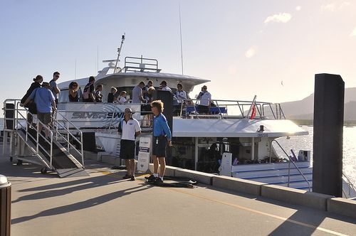 We're ready to whisk you away for a day of adventure, #Silverswift is a luxury 29m catamaran designed with everything you need to experience an underwater world of colourful marine life in safety and comfort. Call Us 1300 731 620 #reeftours #cairns #CairnsTour