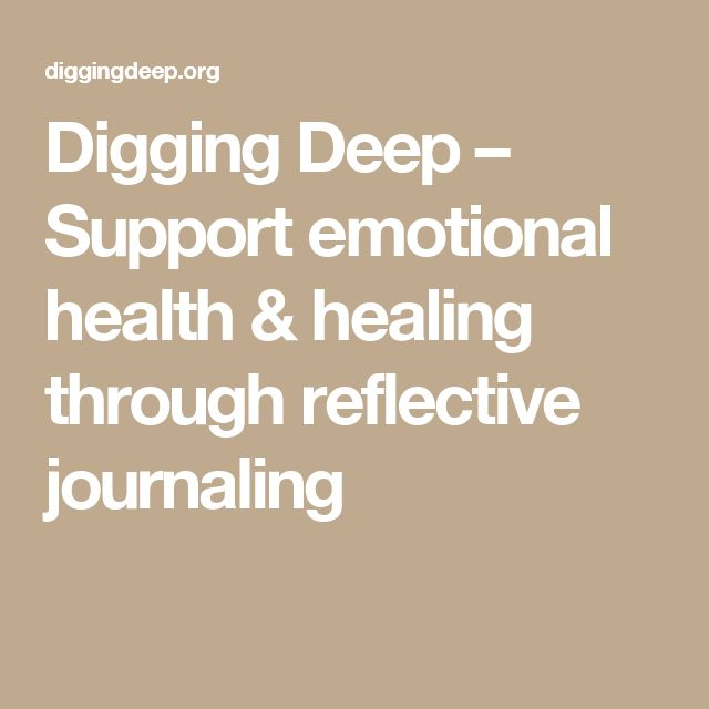 how to write deep reflective journal