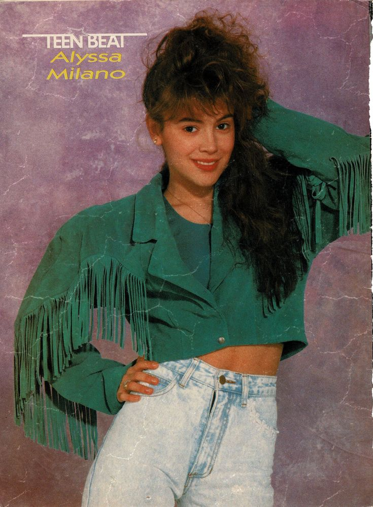 Teen Beat Magazine September 1989  Alyssa Milano - 1980S -6221