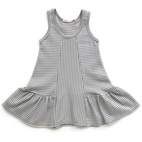 Striped Dress. Do this with the Seashore Sundress pattern!