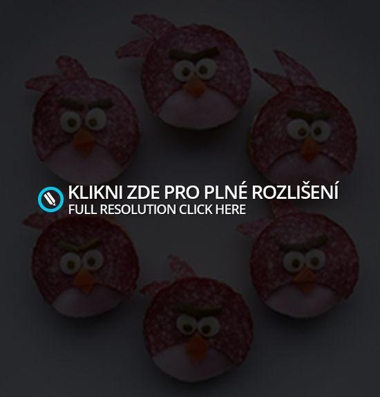 Angry Birds jednohubky | Moje mozkovna