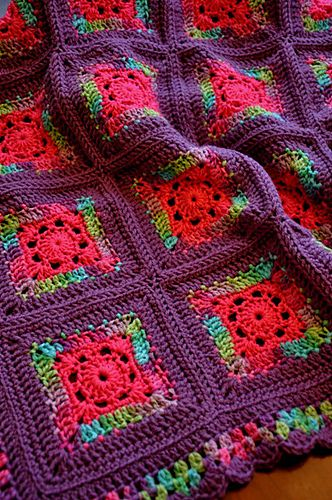 Blushing Grannies - Free pattern by Michele Wilcox.