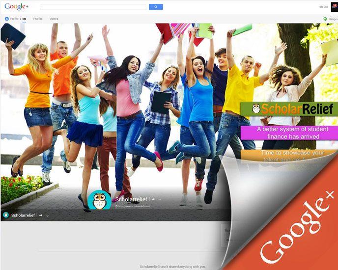 Google+ Page for ScholarRelief.com