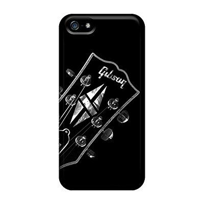 Personality customization New Style Design Gibson Les Paul Hard Case Cover For Iphone 5/5s By CUY Cases