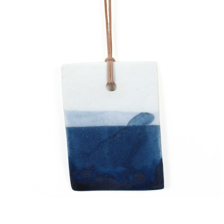 Glazed Seascape Pendant