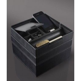 Voteaza stilul si eleganta cu Stackers - Cutie ceasuri si alte accesorii, din piele