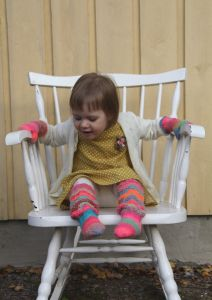 Socks and mittens by Pipo&mitten