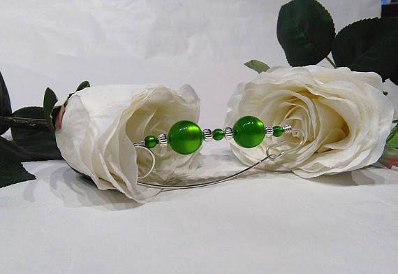 Shawl pin scarf pin sweater pin brooch spectacular green