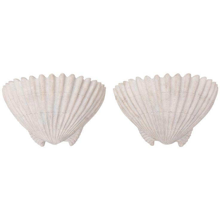 Sirmos Shell Form Sconces