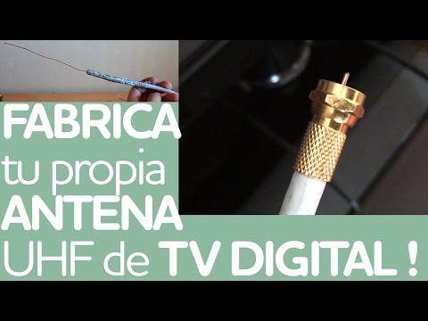 ✔ Cómo hacer ANTENA CASERA HD TV Digital   Tutorial muy fácil ! - YouTube