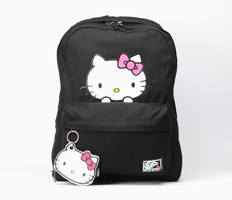 Vans X Hello Kitty Backpack: Peek