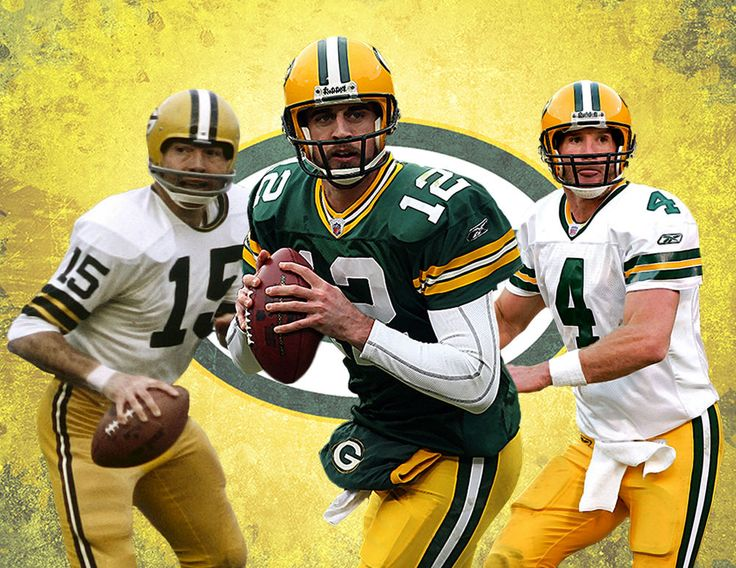 Green Bay #Packers Lithograph Print Of   Green Bays Greatest Quarterbacks 17 X 11 from $26.0